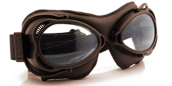 Nannini Streetfighter 4V 1176 Dark brown with brown leather and clear lenses