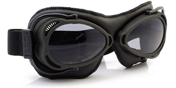 Nannini Streetfighter 4V 1177 in anthracite and black leather and grey lenses