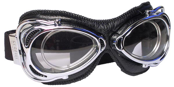 Nannini Streetfighter 4V 1150 in chrome and black leather with grey lenses