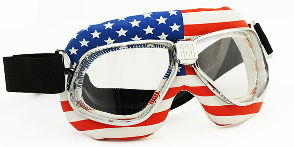 Nannini Cruiser 4V Special Ed USA with clear lenses