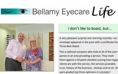 Bellamy Eyecare Life – Summer Printed Newsletter